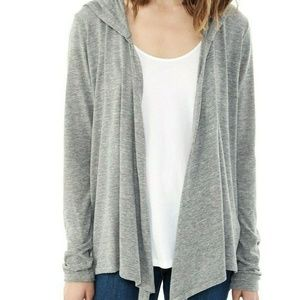 Alternative Cardigan Hooded Open Front Thermal M